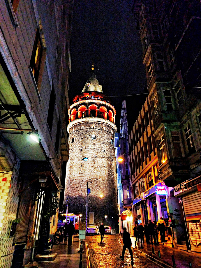 Galata Tower, 'Bloomed'