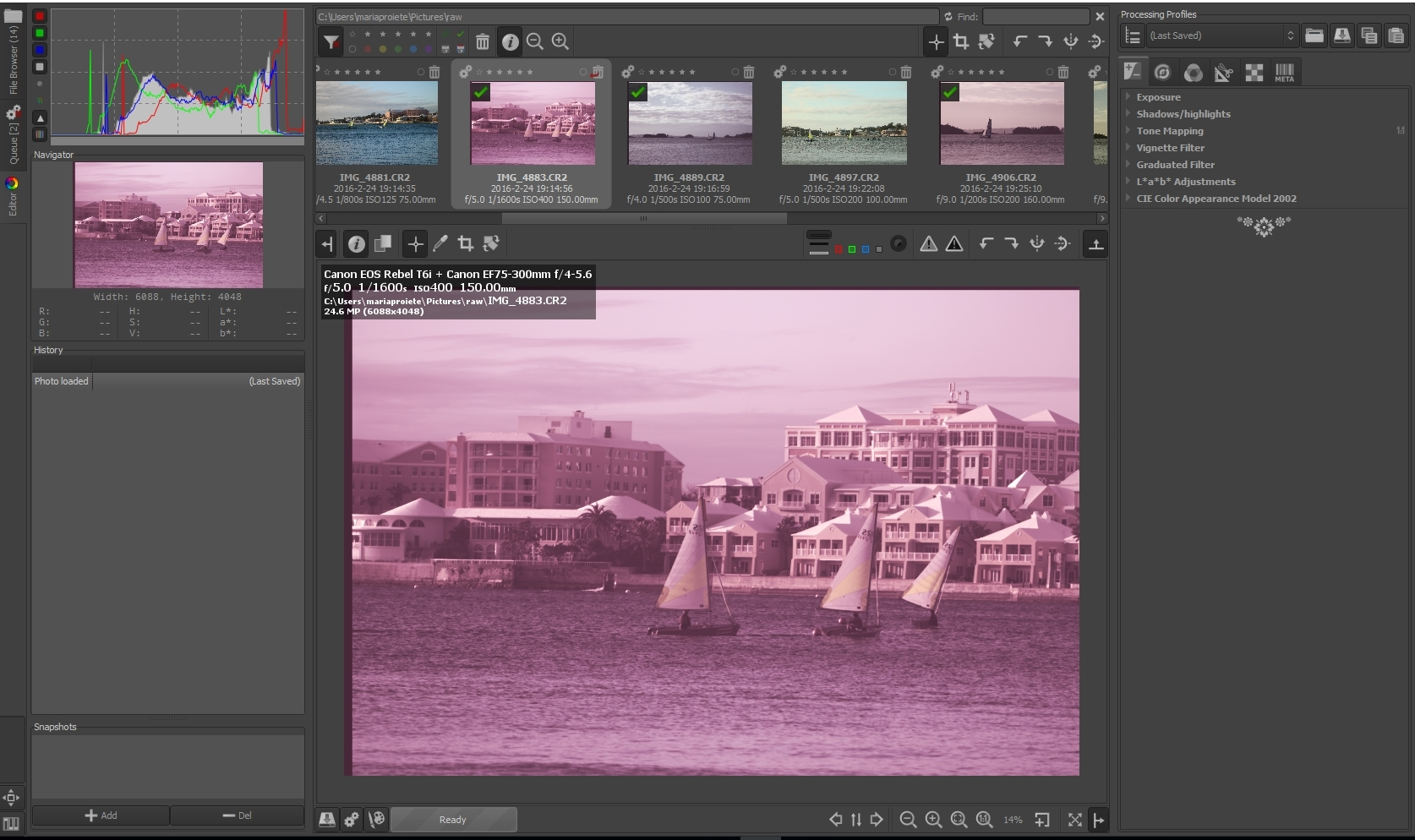 Solved] Beginner basic question: Why my raw photos turn pink when I